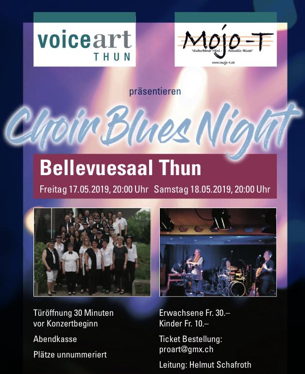 Choir Blues Night mit Mojo-T